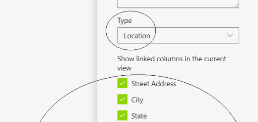"Office 365 - SharePoint Online - Creating a new column of ""Location"" type to document library"