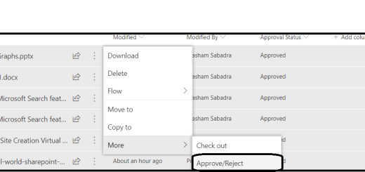 M365-SharePoint Online : New Feature - Bulk Approvals for List and Documents