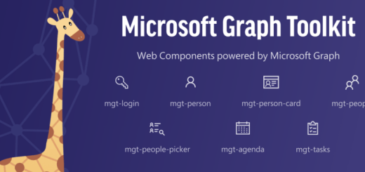 Microsoft Graph Toolkit