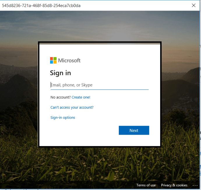 M365 - Teams-Outlook integration - user name prompt for Teams from Outlook