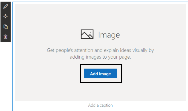 "New Feature - Adding stock image to ""Image"" web part"