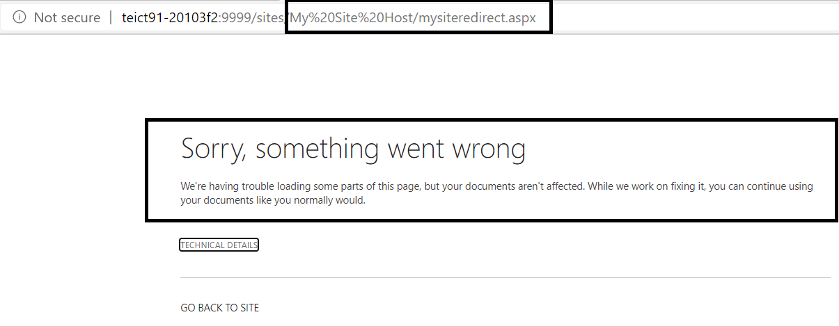 "Error while creating ""My Site Host"" site collection"