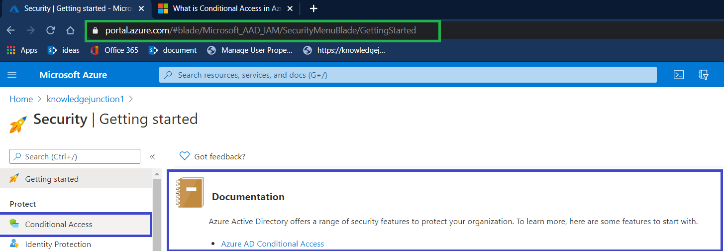 Azure Conditional Access