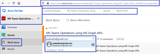 Azure DevOps - work item is successfully assigned to different domain user