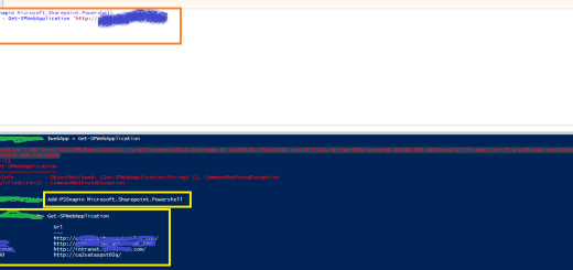 """PowerShell ISE - SharePoint module - """"Microsoft.SharePoint.PowerShell"""" imported using """"Add-PSSnapin"""""""