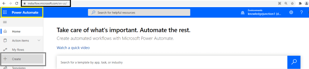 Fig : Power Automate