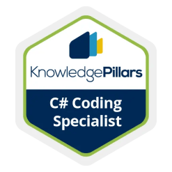 C# Coding Specialist Badge