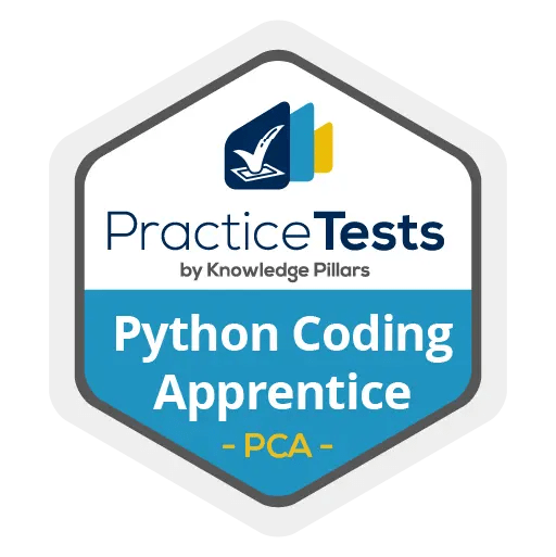 Python Coding Apprentice Practice Test Badge