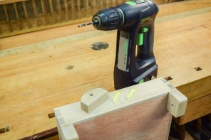 Mark out and drill clearance holes