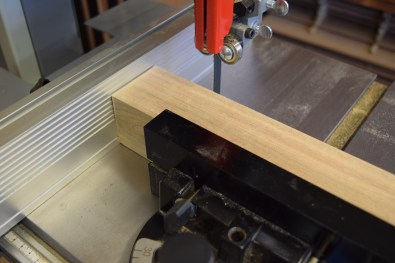 Cutting block to size
