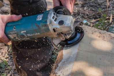 Makita angle grinder with Arbotech TurboPlane