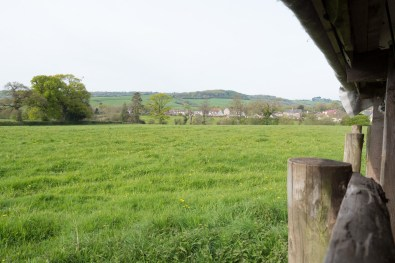 View from the workshop West Dorset