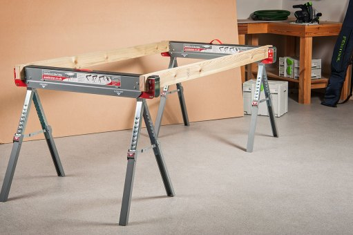 Quickly create a table using 45 x 95mm timber