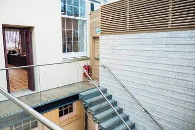 Inside the LSI building in Bridport