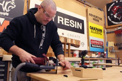 Lamello in use at Resin