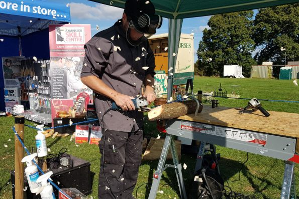 We had a fantastic weekend celebrating all that is 'Good about Wood' at Surrey Hills Wood Fair