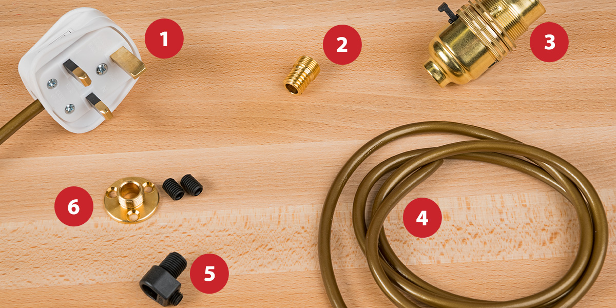 How to make a lamp - tools you will need