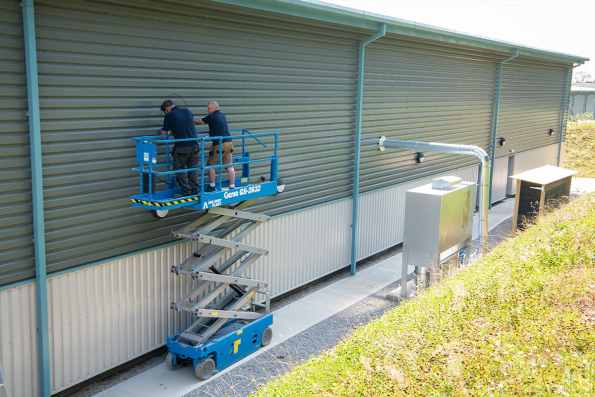 Wood Waste Control - Extraction System Installation