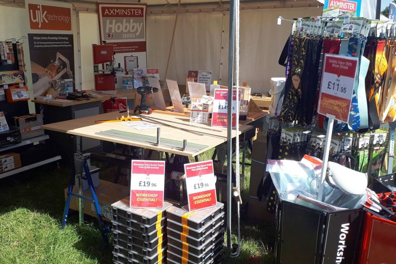 Our Axe Valley Festival stand