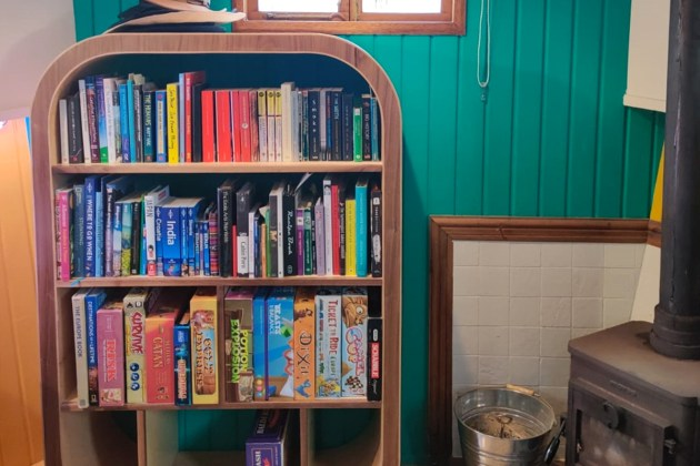 Winning entry from Nic Marshall - Bookcase