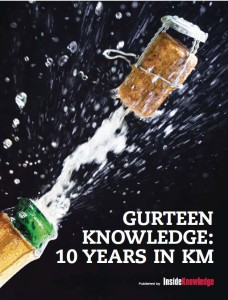 Gurteen Knowledge: Ten Years in KM