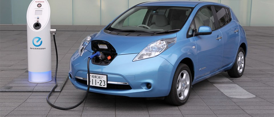 Znalezione obrazy dla zapytania electric car