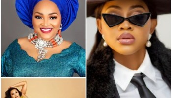 Mercy Aigbe, Brodashaggi, Others React As Omobutty Receives Birthday Surprise