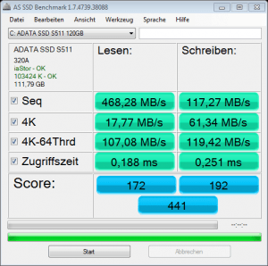 as-ssd-bench-ADATA