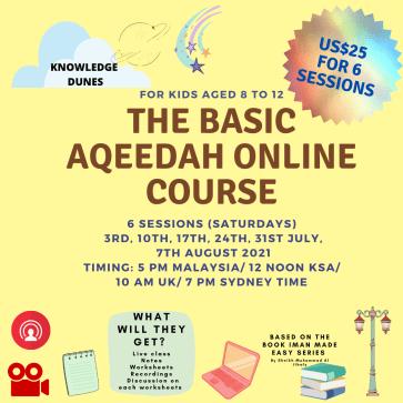 THE basic aqeedah online course (5)