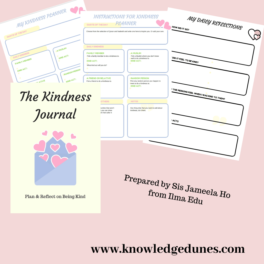 The Kindness Journal Affiliation With Ilma Ed