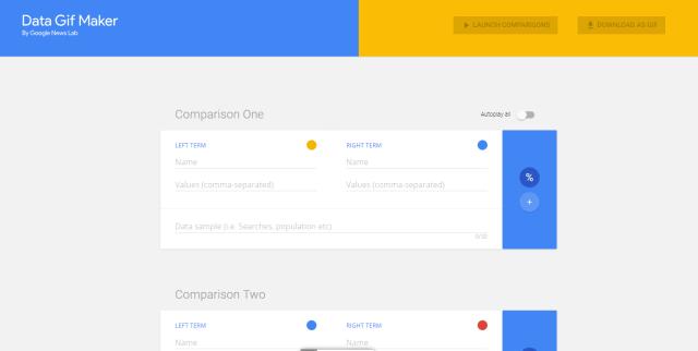 Google Data Gift Maker