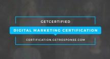 Get Response Digital Marketing Certification Program