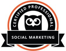 Hootsuite Social Media Marketing Certification