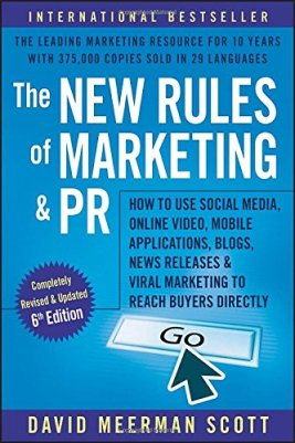 The New Rules of Marketing and PR Book