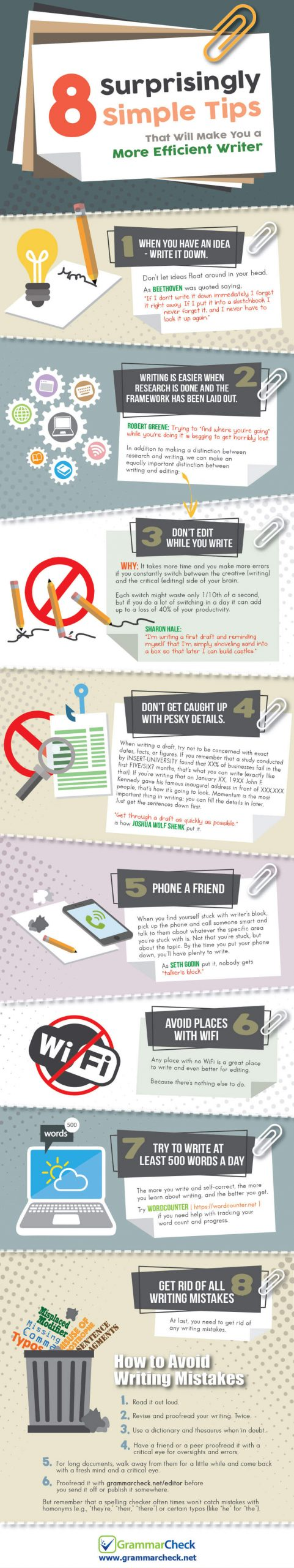 writing tips infographic compressed