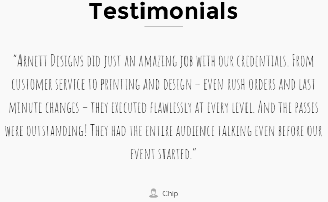Testimonals compressed