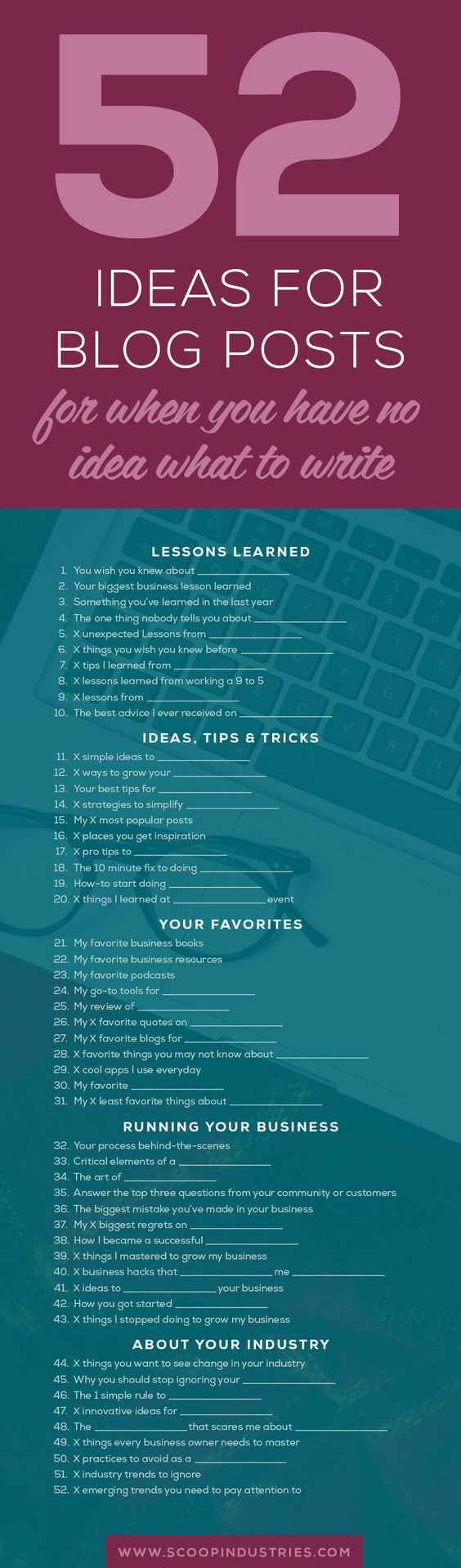Blog Ideas Infographic compressed