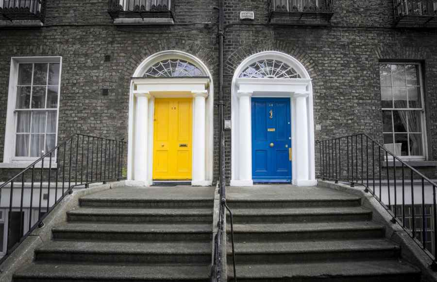 dublin famous colorful doors 422844