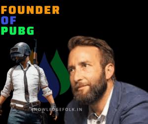 founder of pubg (4)-knowledge folk