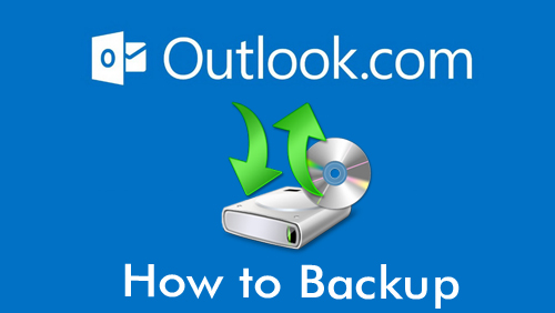 How to backup Microsoft outlook 2013