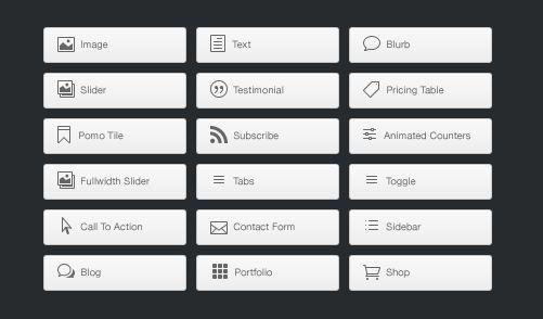 Divi WordPress Theme Modules