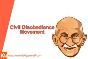 Civil Disobedience Movement
