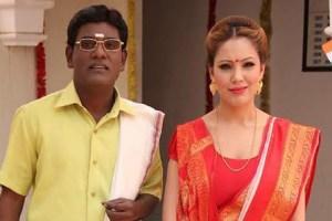 Munmun Dutta and Tanuj Mahashabde