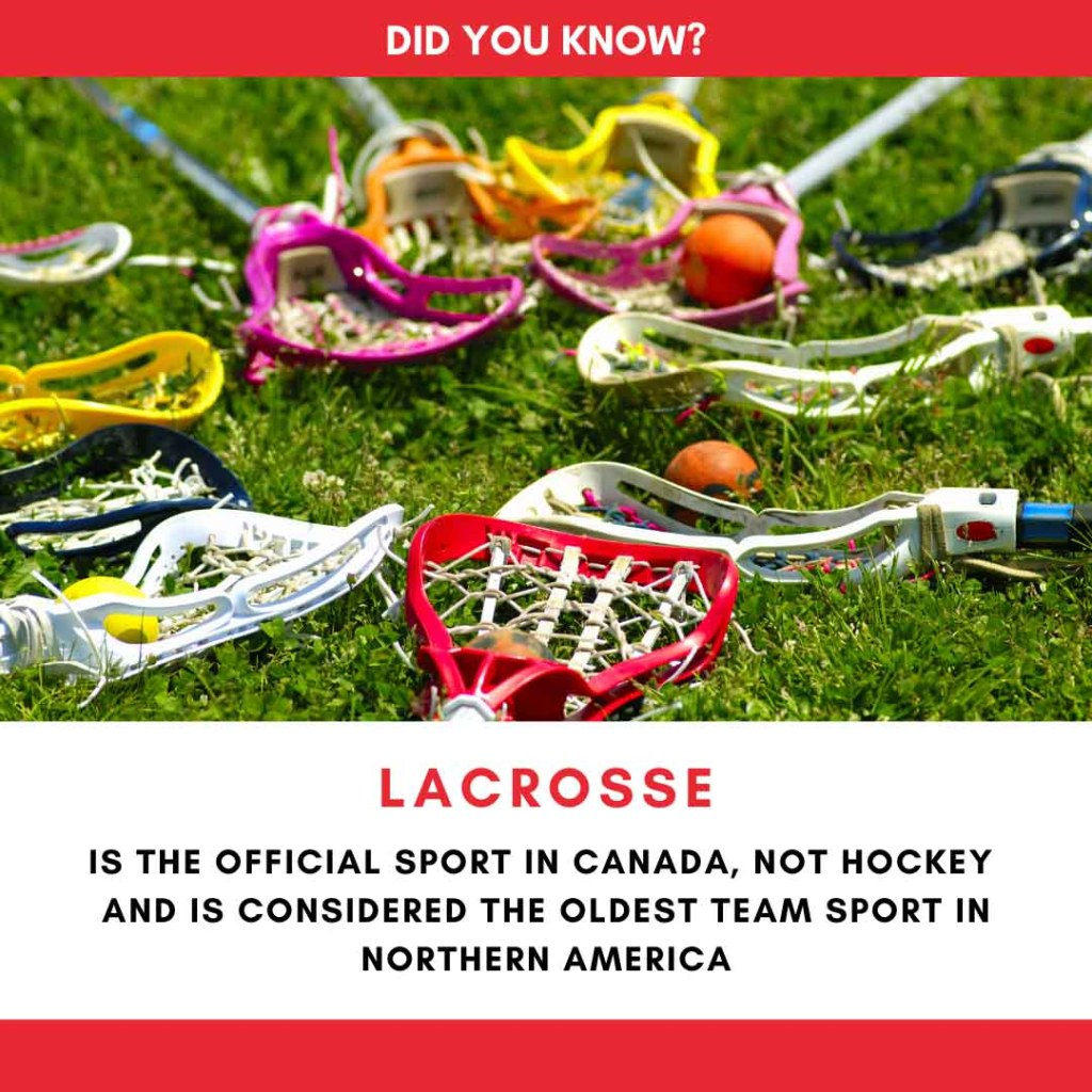 Lacrosse Canada's Official Sport