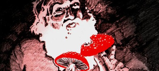 santa-with-fly-agaric-mushrooms-eric-dubay