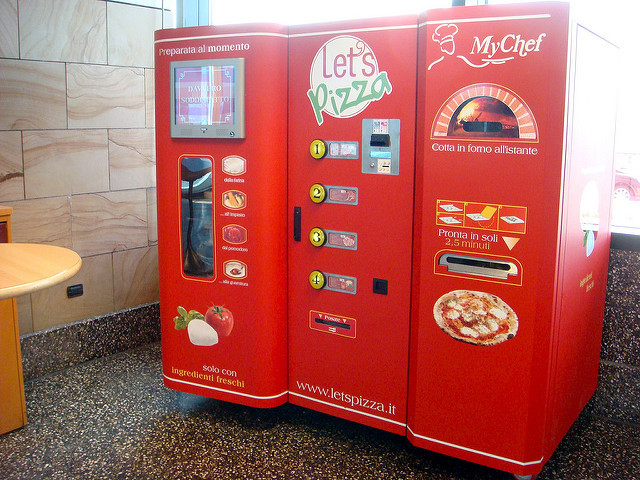 Unusual Vending Machines from Around the World
