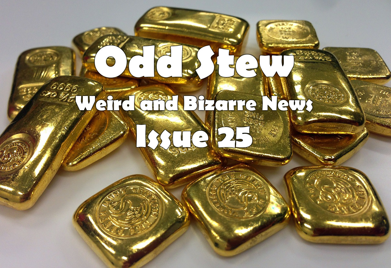 Odd Stew – Weird and Bizarre News – Issue 25