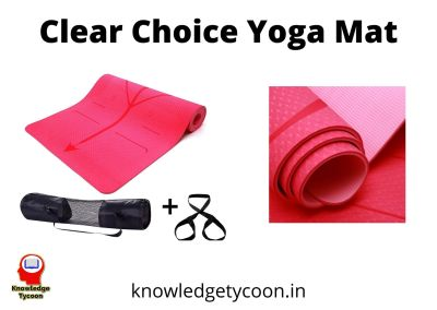 clear choice Best Yoga Mat Review in India 2020 Revew & Guide in Hindi