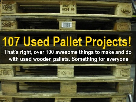 100+ used pallet DIY projects