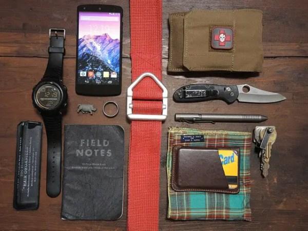 EDC (everyday carry) gear